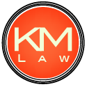 KM Law Logo