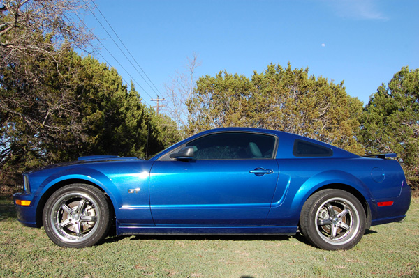 A picture of John's 2008 Mustang 2008