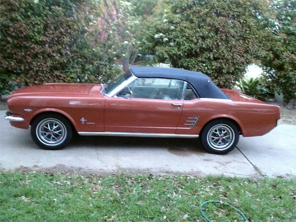 Richard's 1966 Mustang Convertible