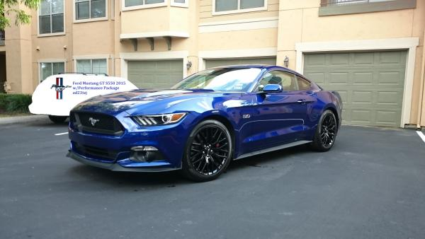 2015 Mustang GT with Performance Pack