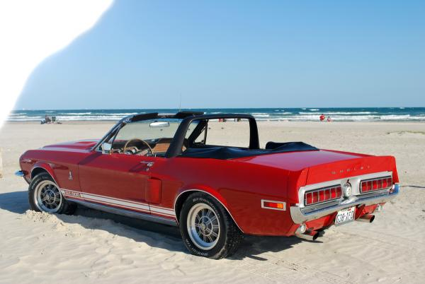 Gordon's Red Convertible 1968 Shelby GT 500